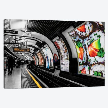 London Sub Canvas Print #JOR96} by Anders Jorulf Canvas Art