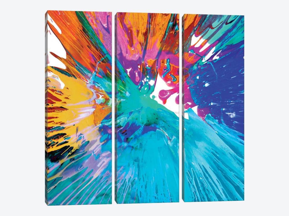 Unabashed II by Josh Evans 3-piece Canvas Art Print