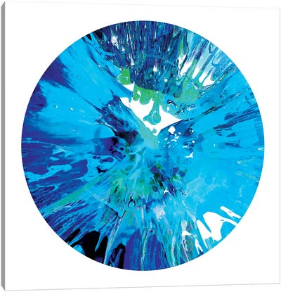 Circular Motion I Canvas Art Print