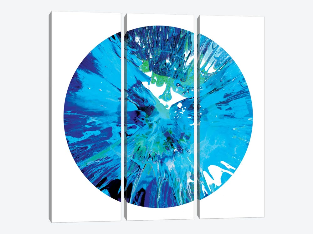 Circular Motion I by Josh Evans 3-piece Canvas Art