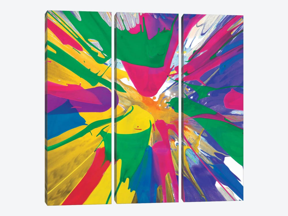 Unabashed V by Josh Evans 3-piece Canvas Print