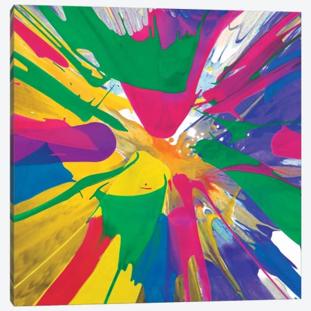 Unabashed V Canvas Print #JOS22} by Josh Evans Canvas Art Print