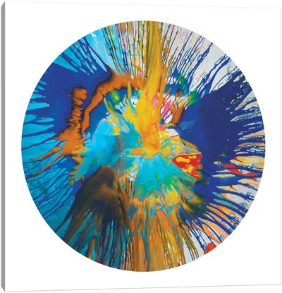 Circular Motion II Canvas Art Print