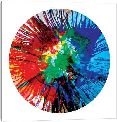 Circular Motion III Canvas Art Print