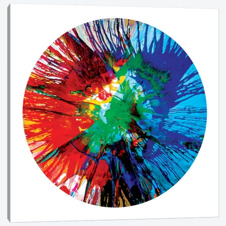 Circular Motion III Canvas Print #JOS3} by Josh Evans Canvas Art