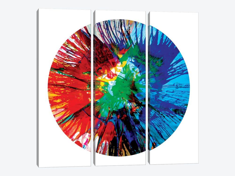 Circular Motion III by Josh Evans 3-piece Canvas Artwork