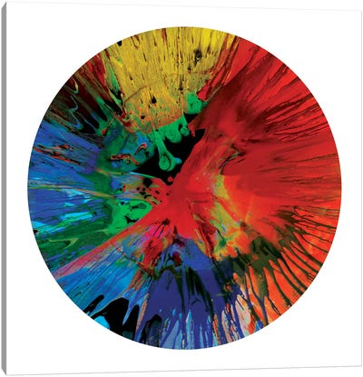 Circular Motion IV Canvas Art Print