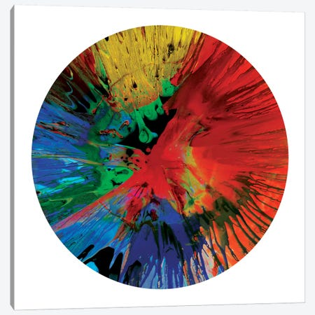 Circular Motion IV Canvas Print #JOS4} by Josh Evans Art Print