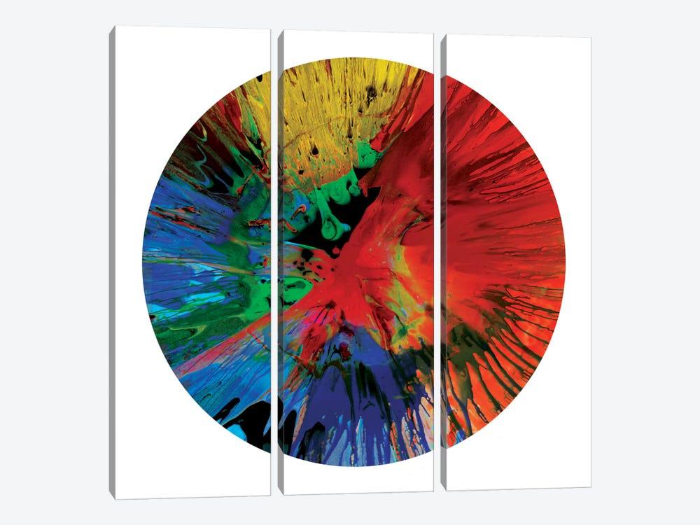 Circular Motion IV by Josh Evans 3-piece Art Print
