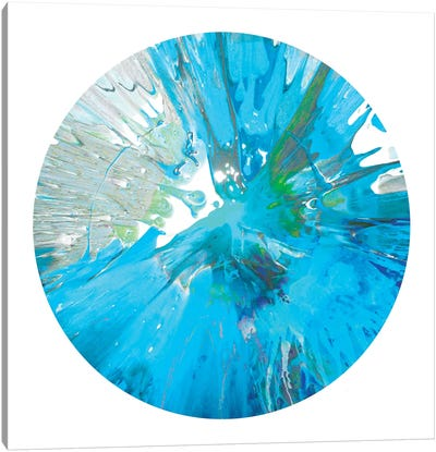 Circular Motion IX Canvas Art Print
