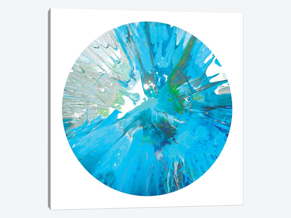 Circular Motion IX by Josh Evans 1-piece Canvas Artwork