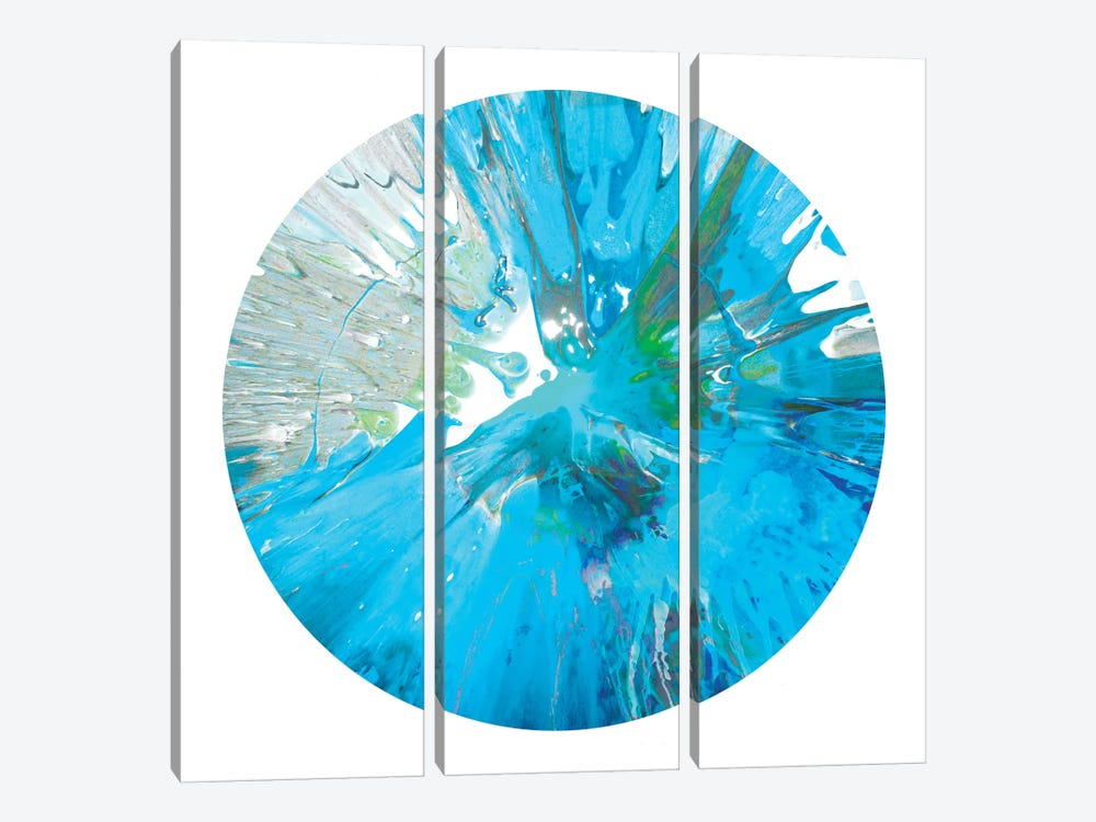 Circular Motion IX by Josh Evans 3-piece Canvas Artwork