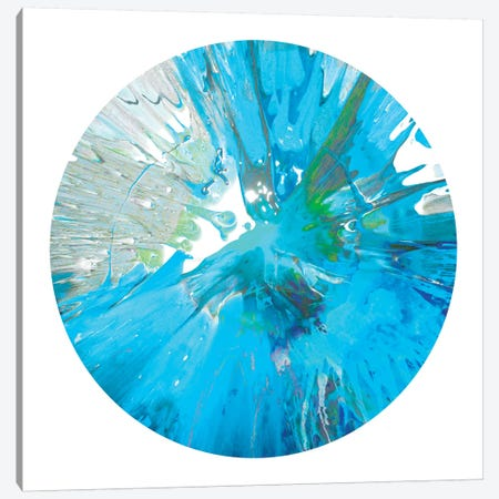 Circular Motion IX Canvas Print #JOS5} by Josh Evans Canvas Print