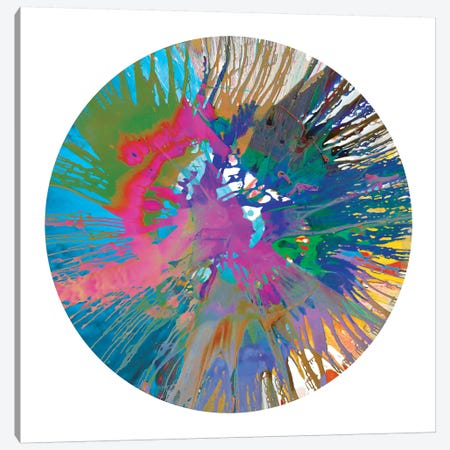 Circular Motion V Canvas Print #JOS6} by Josh Evans Canvas Print