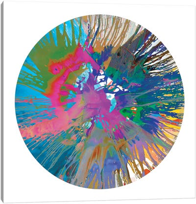 Circular Motion V Canvas Art Print