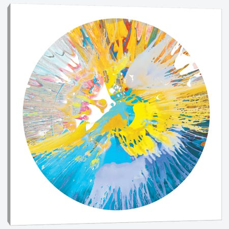 Circular Motion VI Canvas Print #JOS7} by Josh Evans Canvas Art Print