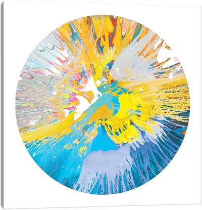Circular Motion VI Canvas Art Print