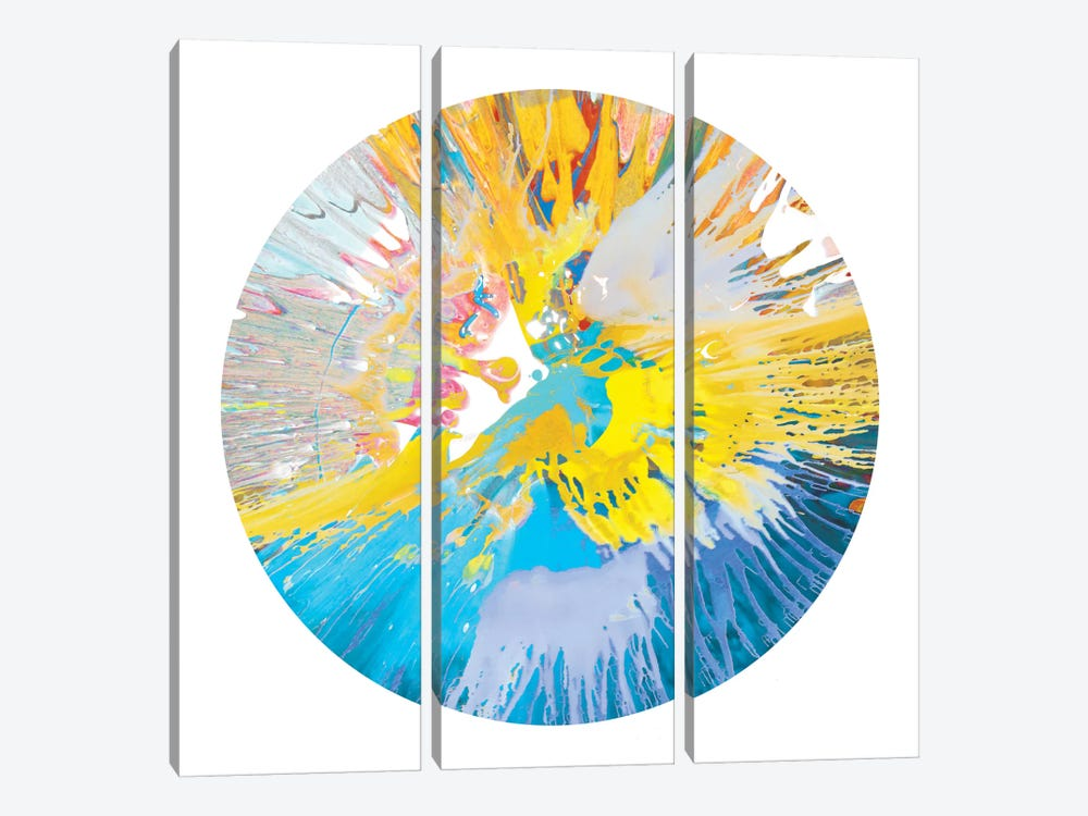 Circular Motion VI by Josh Evans 3-piece Canvas Art
