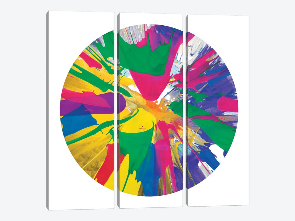 Circular Motion VIII by Josh Evans 3-piece Canvas Art