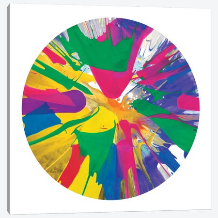 Circular Motion VIII Canvas Print #JOS9} by Josh Evans Canvas Art