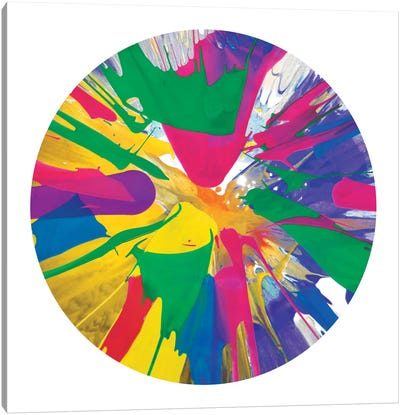 Circular Motion VIII Canvas Art Print