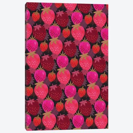 Autumn Strawberries Canvas Print #JOT11} by Jo Taylor Canvas Art Print