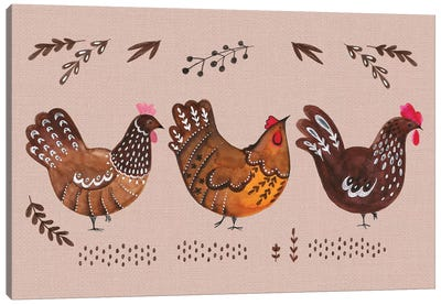Virginia Farm I Canvas Art Print