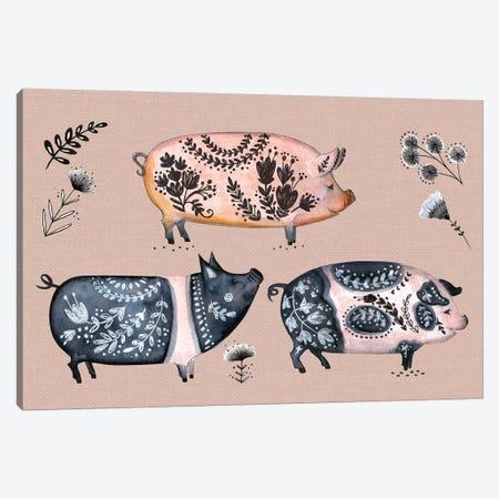 Virginia Farm III Canvas Print #JOT7} by Jo Taylor Canvas Artwork