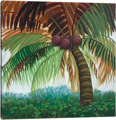 Tropic Palm II Canvas Art Print