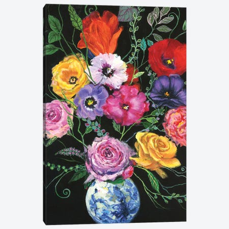 Fresh Picks I Canvas Print #JOY16} by Julie Joy Canvas Art Print
