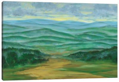 Misty Mountain View I Canvas Art Print