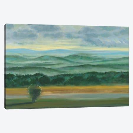 Misty Mountain View II Canvas Print #JOY19} by Julie Joy Canvas Artwork