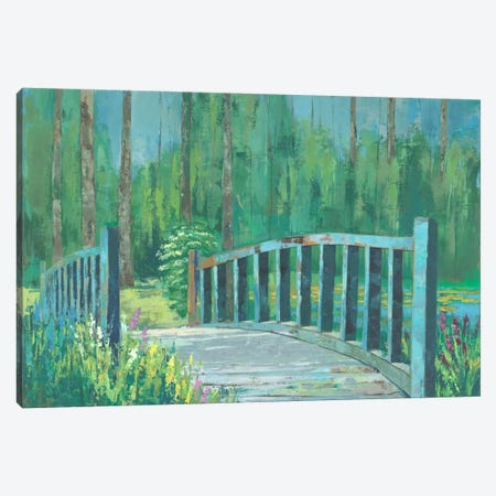A River Crossing I Canvas Print #JOY1} by Julie Joy Canvas Wall Art