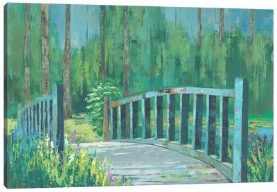 A River Crossing I Canvas Art Print