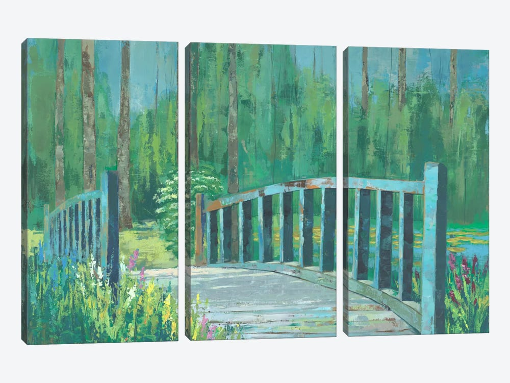 A River Crossing I by Julie Joy 3-piece Canvas Art
