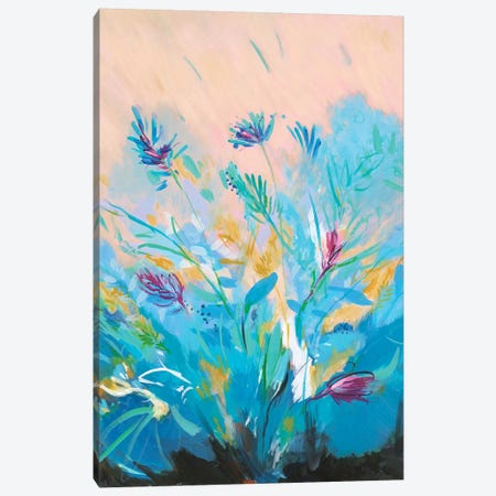 Mixed Floral I Canvas Print #JOY20} by Julie Joy Art Print