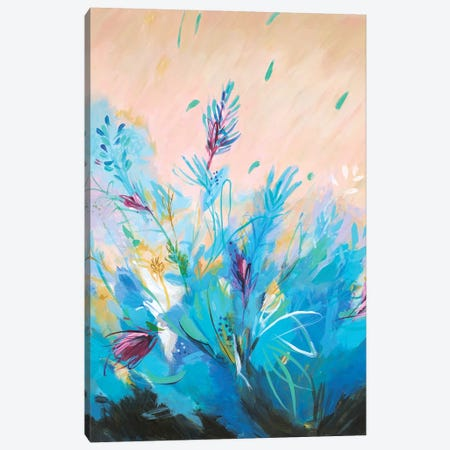 Mixed Floral II Canvas Print #JOY21} by Julie Joy Canvas Print