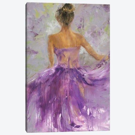 Flowing Vision I Canvas Print #JOY26} by Julie Joy Canvas Artwork