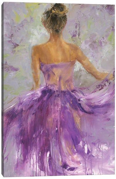 Flowing Vision I Canvas Art Print