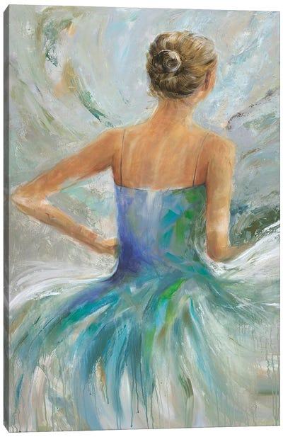 Flowing Vision II Canvas Art Print