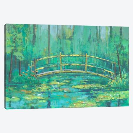 A River Crossing II Canvas Print #JOY2} by Julie Joy Canvas Art