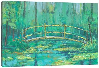 A River Crossing II Canvas Art Print