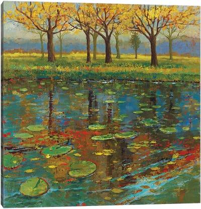 Shimmering Spring I Canvas Art Print