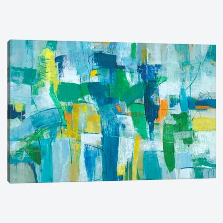 Our Dance I Canvas Print #JOY7} by Julie Joy Art Print