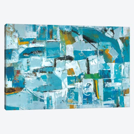 Our Dance III Canvas Print #JOY9} by Julie Joy Canvas Wall Art