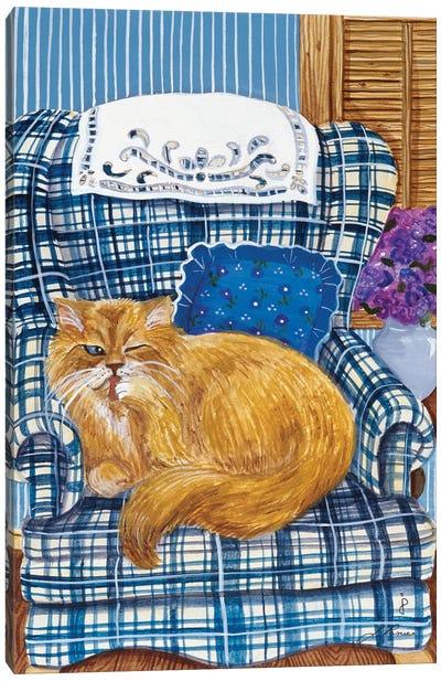 Favorite Chair Canvas Art Print