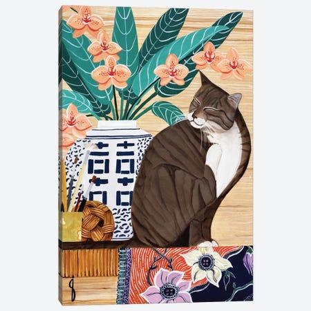 Flea Season Canvas Print #JPA18} by Jan Panico Canvas Art Print