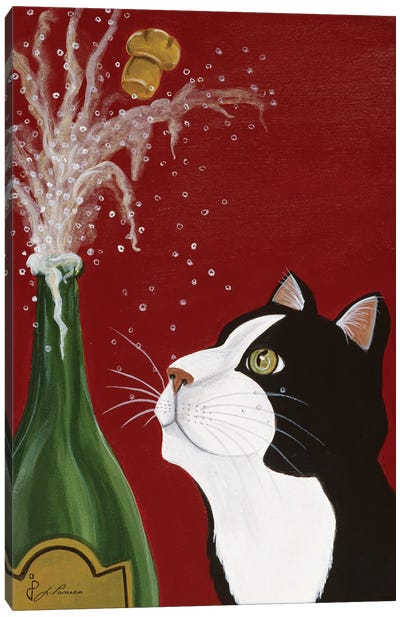 Happy New Year Canvas Art Print