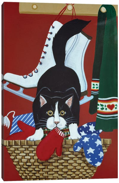 Mitten Kitten Canvas Art Print