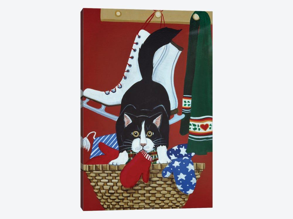 Mitten Kitten by Jan Panico 1-piece Canvas Art
